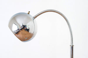 MCM Chrome Eyeball Lamp