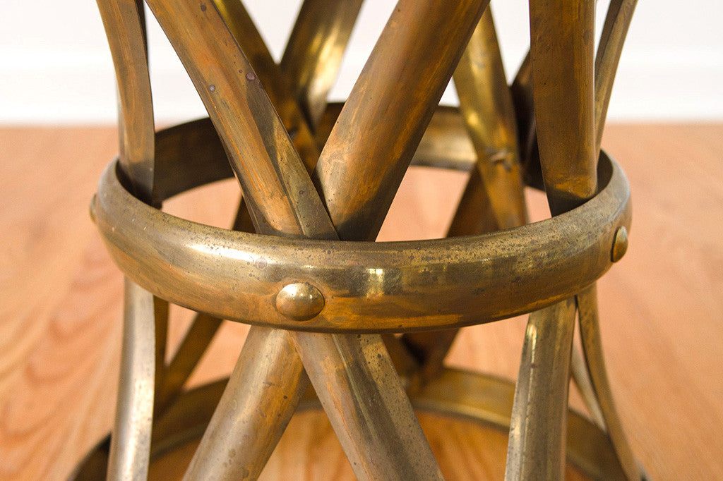 MCM Brass Side Table