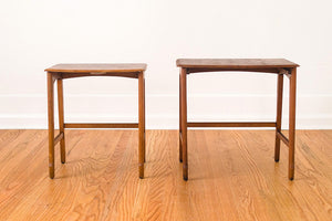 MCM Walnut Nesting Tables