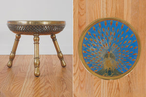 Brass Peacock Plant Stand