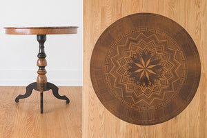 Inlay Cafe Table