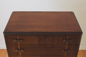 Art Deco Highboy Dresser