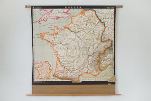 East German Map of France