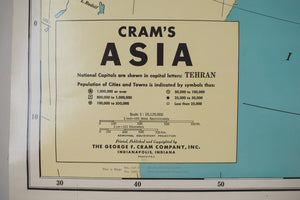 Schoolhouse Map of Asia