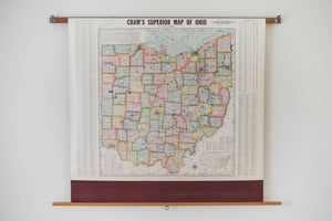 Schoolhouse Map of Ohio