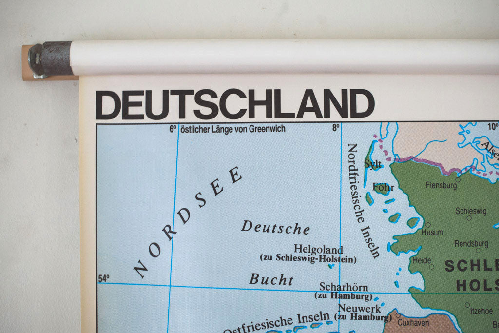 Schoolhouse Map of Germany