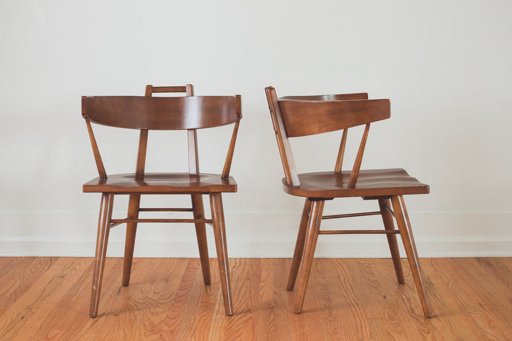 Good MCM Russel Wright Chairs