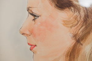 Watercolor Sketch Portrait