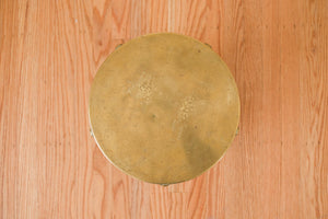Brass Drum Table