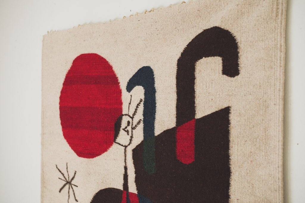 Miro Abstract Tapestry