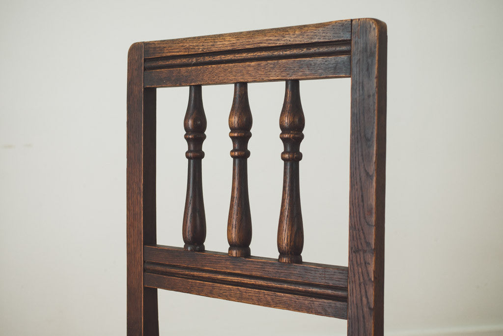 Antique Oak Chairs