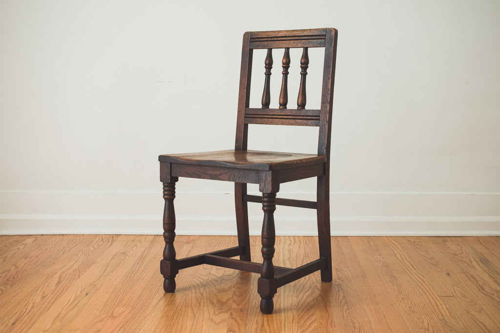 Antique Oak Chairs - Antique Oak Chairs - Homestead Seattle
