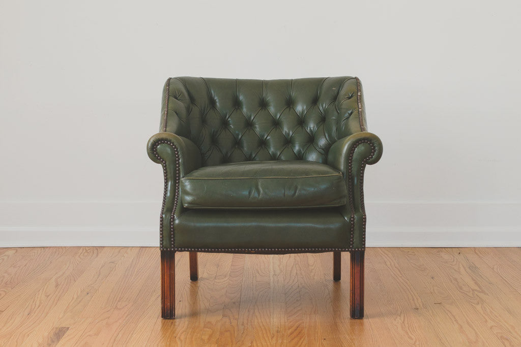 Leather Chesterfield Chair Homestead Seattle - Leather chesterfield chairs