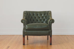 Leather Chesterfield Chair