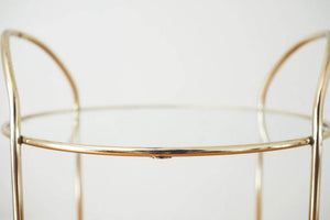 Brass & Glass Shelf