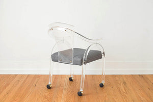 Lucite Arm Chair