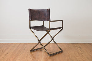 Gold Director Chair