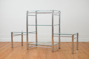 Chrome & Glass Shelf