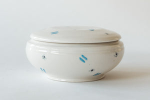 Ceramic Bowl & Lid