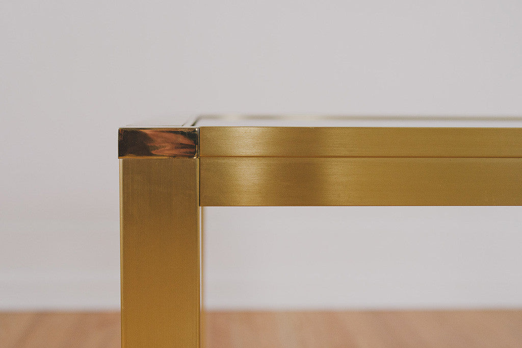 Lunstead Gold Side Table