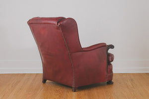 Antique Leather Club Chair