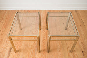 Mod Gold Side Tables