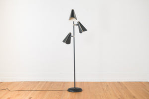 Black Triple Lamp