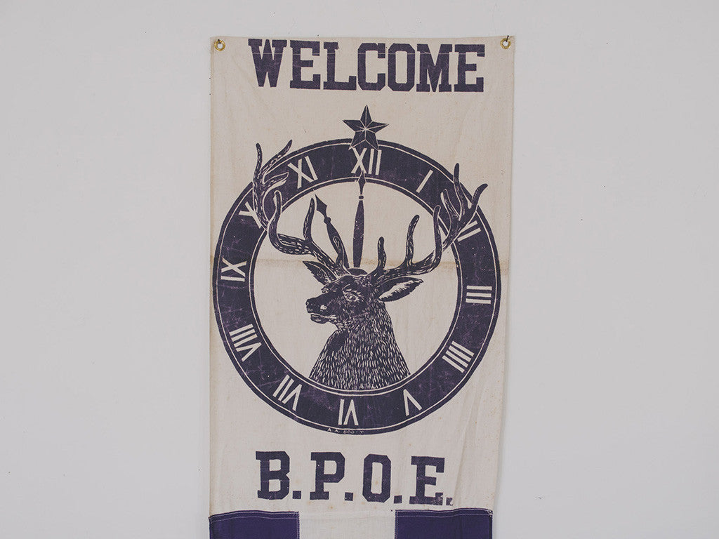 BPOE Elks Lodge Banner