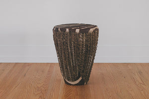 Vintage African Drum Table