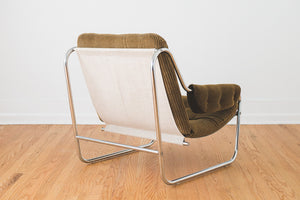 Corduroy Sling Chair
