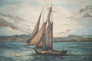 Original Ship Painting