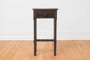 Quarter Sawn Entry Table