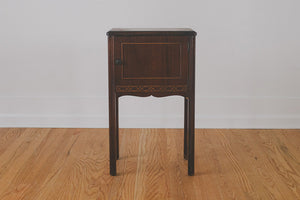 Vintage Humidor Side Table