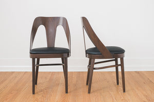 Leather Bentwood Chairs
