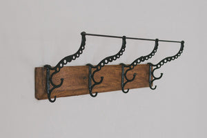 Vintage Hat & Coat Rack