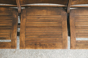 Antique Folding Seats