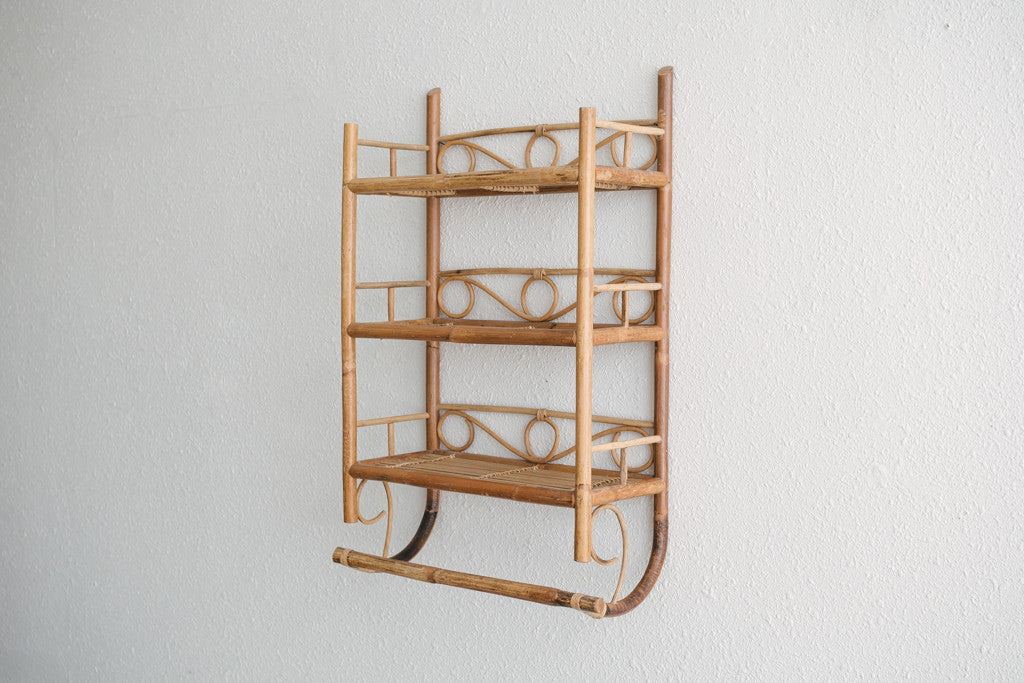Bamboo Wall Shelf - Homestead Seattle