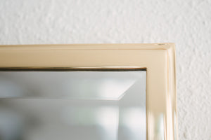 Small Brass Mirror