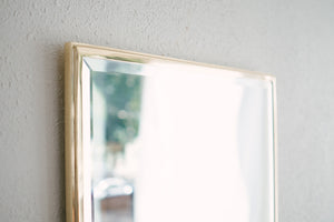 Large Brass Mirror