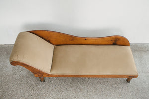 Antique Pine Chaise