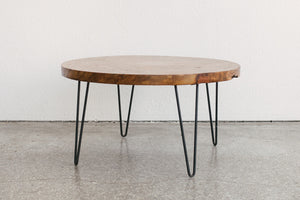 Burlwood Coffee Table