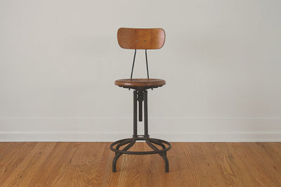 Enjoyable Industrial Drafting Stool Machost Co Dining Chair Design Ideas Machostcouk