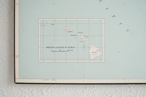Vintage Hawaii Map