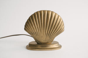 Brass Shell Lamp