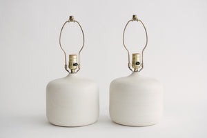 MC Pottery Lamps