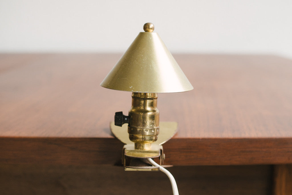 Mini Clamp Lamp