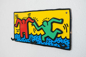 Keith Haring Coat Rack
