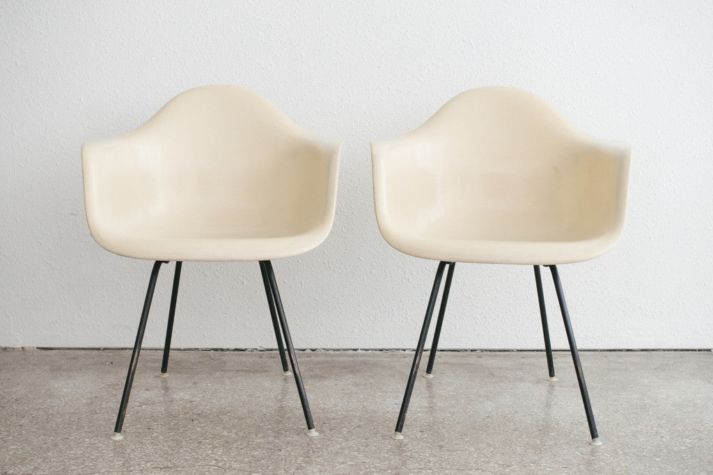 50s Eames Shell Chairs