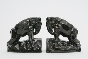Mod Elephant Bookends