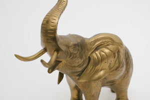 Large Brass Elephant